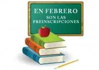 preinscripciones ciclo escolar 13-14