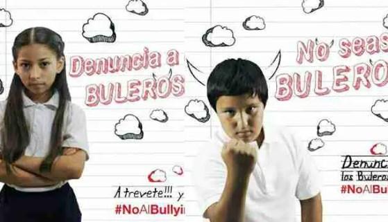 """Cartel de la campaña """"No seas Bulero"""""""
