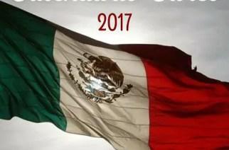 Calendario cívico 2017