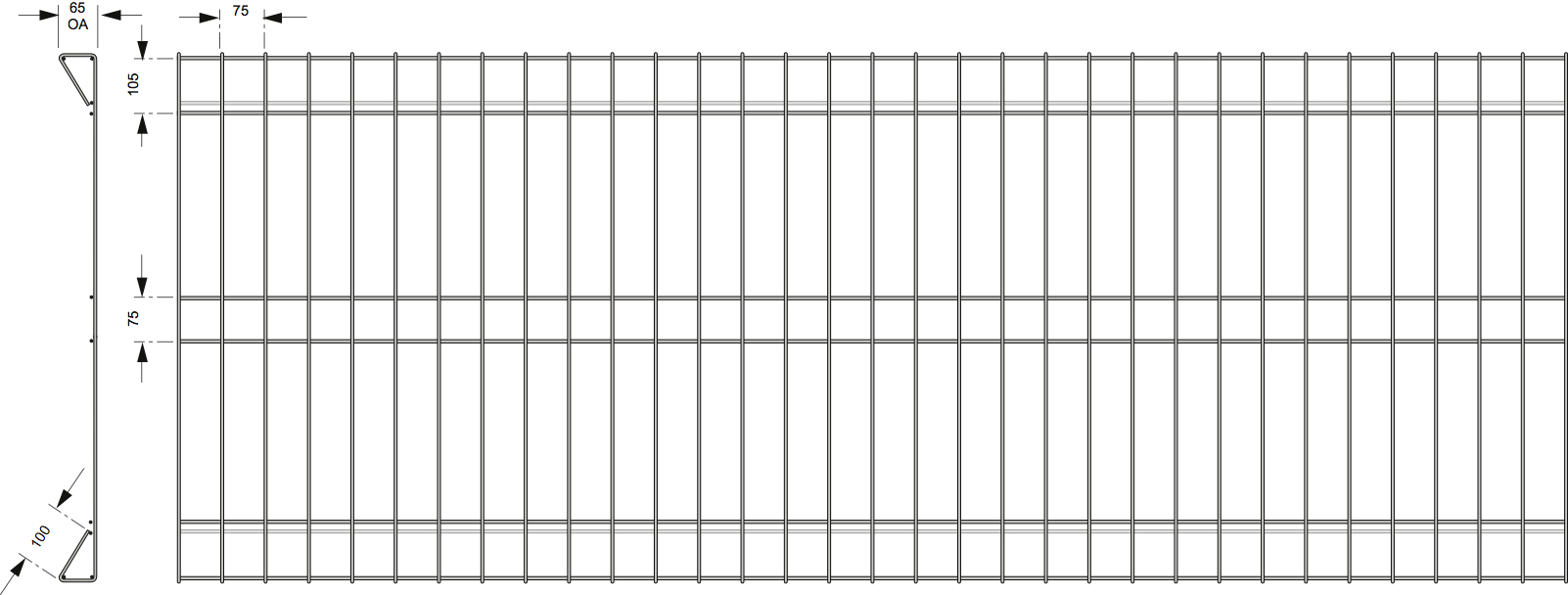 Enchanting Welded Wire Mesh Fencing Roll Images - Simple Wiring ...