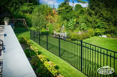 Eastern Aluminum Fence Style EO54200 54 inch tall, BOCA pool code compliant fence.