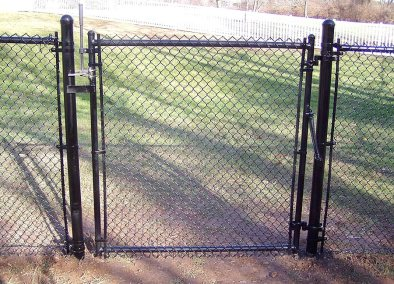 Chain link fence gates are available from profencesupply.com in all heights, widths, colors, pipe diameters and filled or frame only.