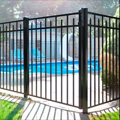 Eastern Ornamental Aluminum EO54200 straight top gate