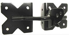 Illusions vinyl gate hardware