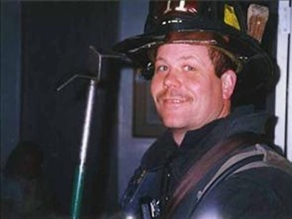 My younger brother Matt was on the top floor of the Marriott Hotel along with his company, FDNY Ladder 11 when the first tower collapsed cutting the building in half. Unfortunately, they were in the wrong half.