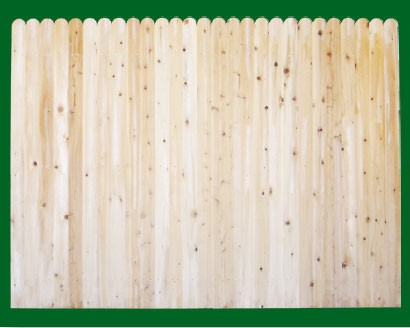 Eastern White Cedar with Style 11 picket top.