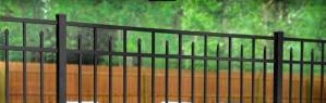 Eastern Ornamental Pool Fence