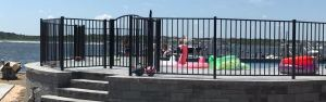 We ship OnGuard aluminum fence everywhere in the USA