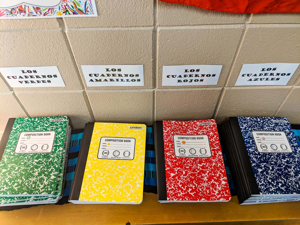 pen pal notebooks
