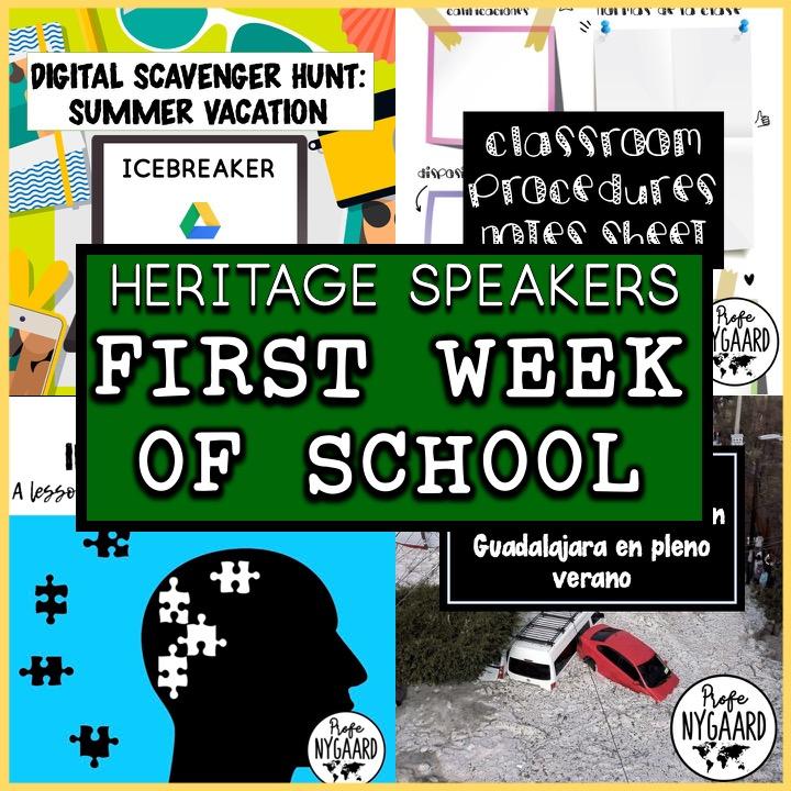 heritage speakers first week bundle