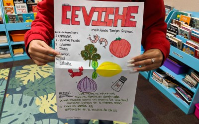 "Photo Essay: A ""Family Favorite"" Recipe Project for Heritage Spanish Class"