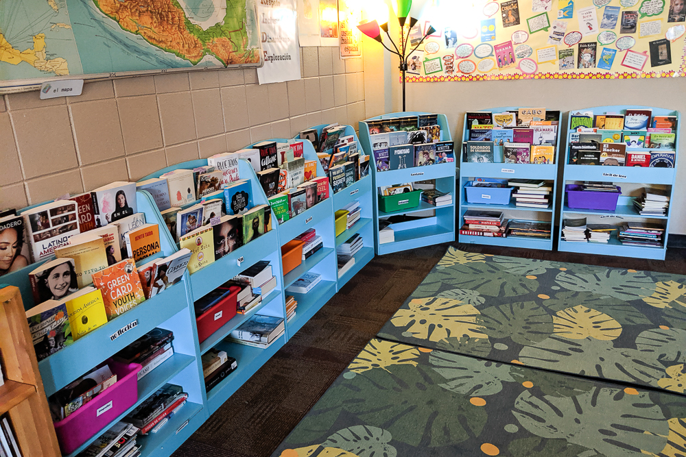 heritage classroom library for FVR