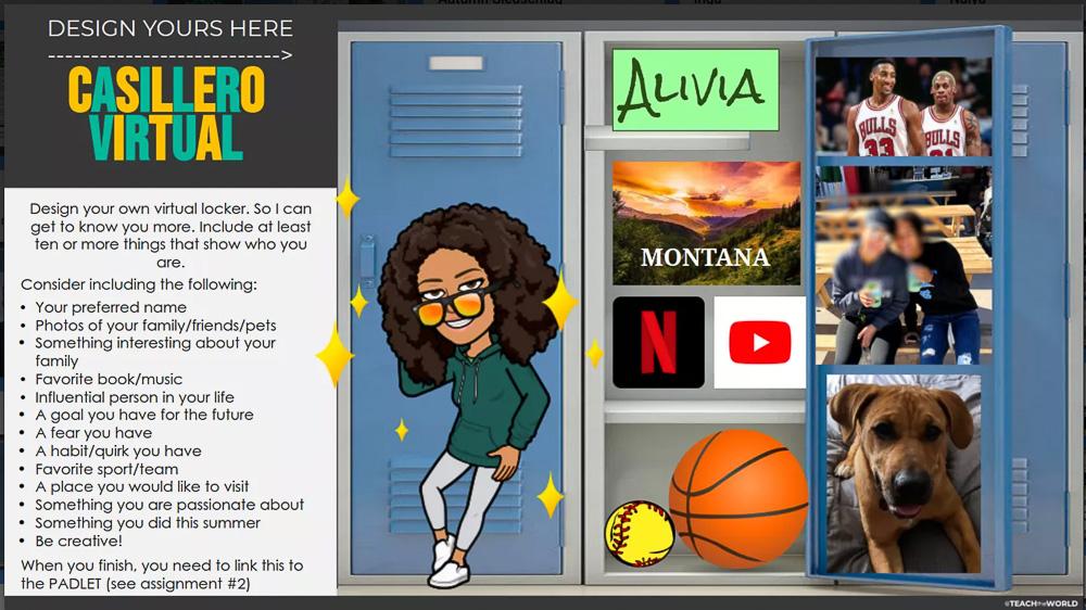 virtual locker