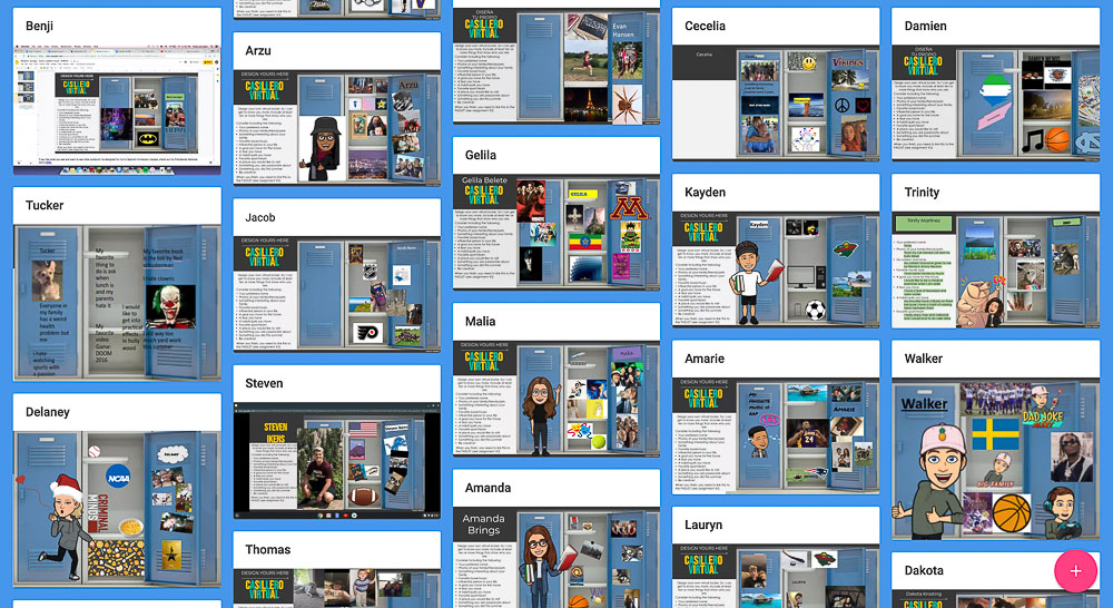 How to do a Virtual Gallery Walk using Padlet