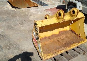 Cazo de pala cargadora JCB 1,2 m ancho, año 2010 Profesiolan 561