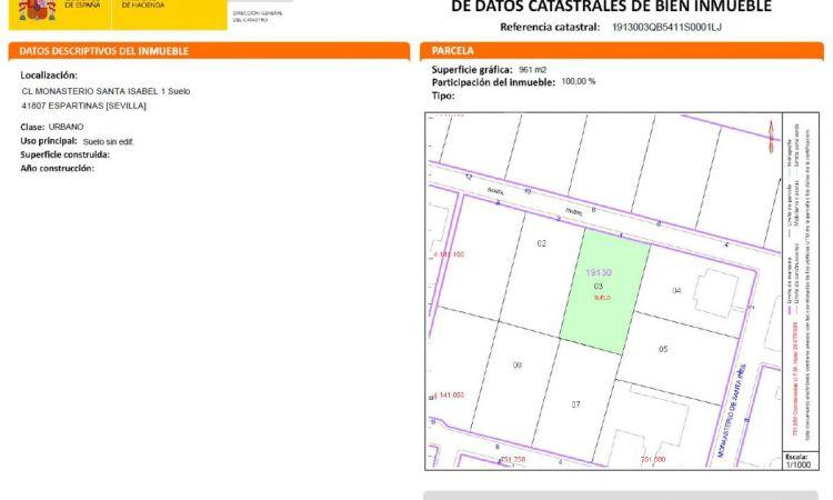 Solar edificable en Urbanización Monasterio Profesiolan 146