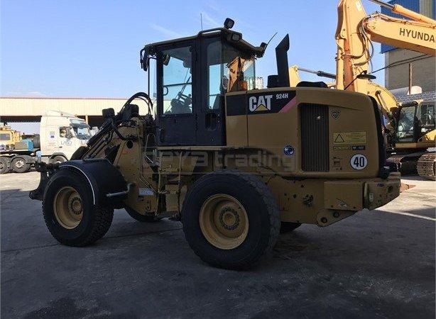 Pala cargadora Caterpillar 924H Profesiolan 113