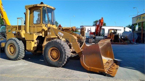 Pala cargadora Caterpillar 950B Profesiolan 135
