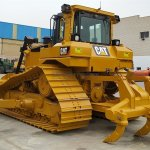 Bulldozer sobre orugas Caterpillar D6T LGP Profesiolan 203