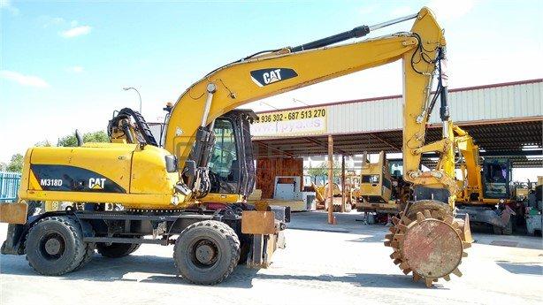 Excavadora de ruedas Caterpillar M318D Profesiolan 211