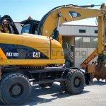 Excavadora de ruedas Caterpillar M318D Profesiolan 214