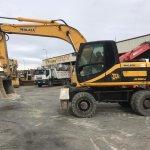 Excavadora de ruedas JCB JS160W Profesiolan 291