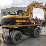 Excavadora de ruedas JCB JS160W Profesiolan 294