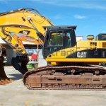 Excavadora de cadenas CATERPILLAR 345D Profesiolan 91