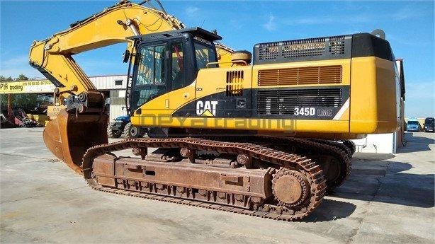 Excavadora de cadenas CATERPILLAR 345D Profesiolan 93