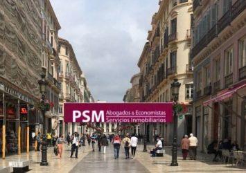 Alquiler local en centro Málaga Inmobiliaria PSM 221