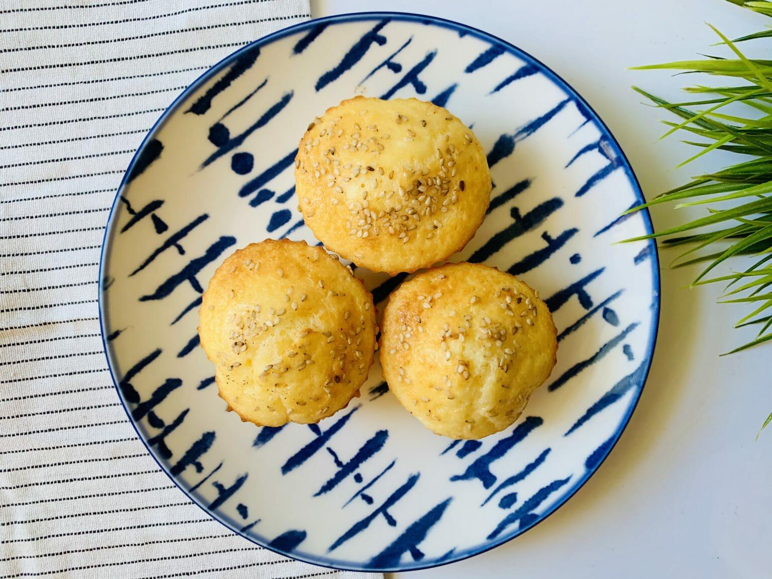 Солени оризови мъфини