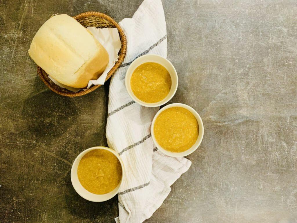 крем супа от батат и елда