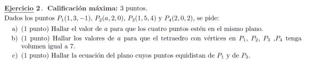 selectividad Madrid matemáticas