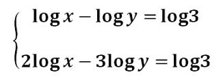 sistemas de ecuaciones logaritmicas ejercicios resueltos