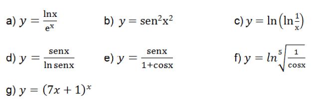 derivadas de funciones resueltas