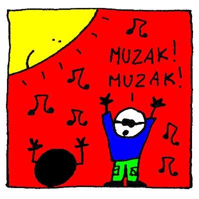Giorgio se convertit à la Muzak.