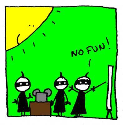 No Muzak = No fun