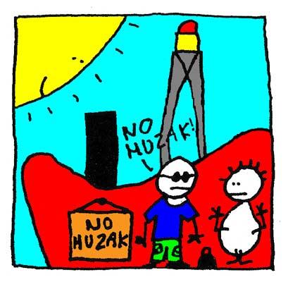 Giorgio ne veut pas de Muzak sur le bateau.