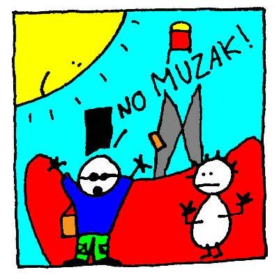 No Muzak sur le Bato