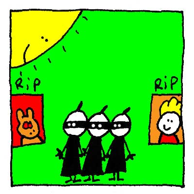 Les Ninjas sont désabusés.
