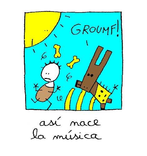 Así nace la música