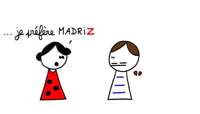 je préfère Madriz