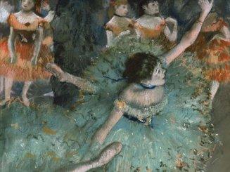 Edgar Degas - Danseuse basculant (Danseuse verte) (1877-1879)