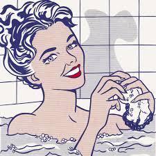 Roy Lichtenstein - Woman in bath (1963)
