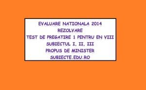 test pregatire 1 s123