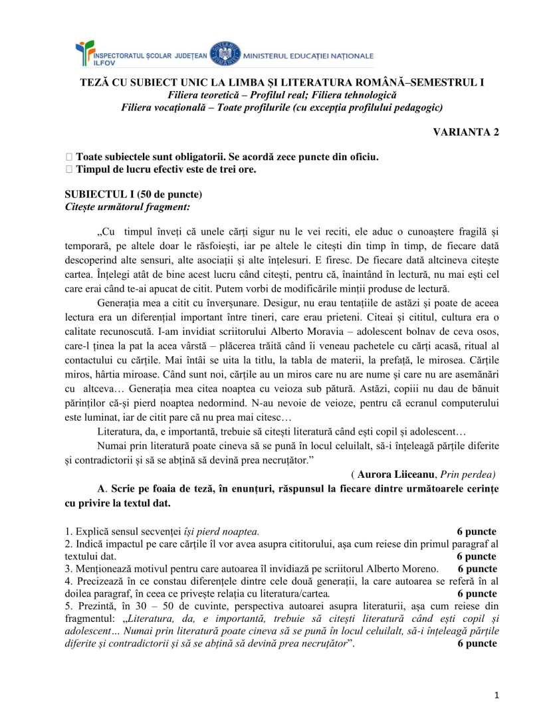 TSU_REAL subiect 2-1