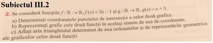 Subiectul III.2
