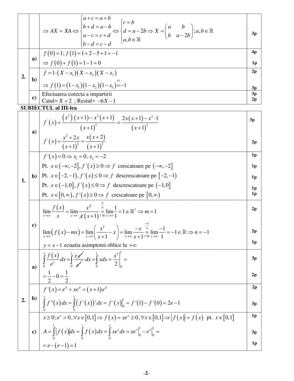 Barem-Tehnologic-sem-II-2
