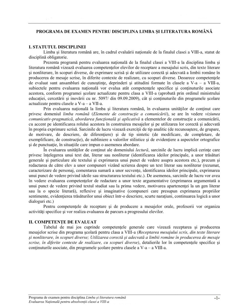 04_Programa_Evaluarea_Nationala_EN8_Limba si literatura romana-2