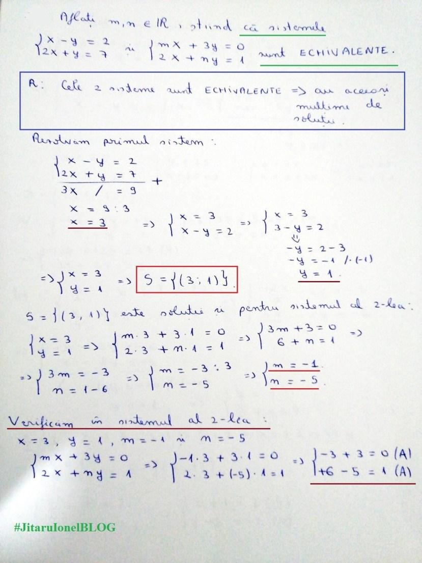 rezolvareSistem-test-initial-clasa8-2020-2021